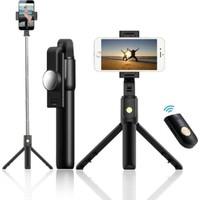 Tripod Bluetooth Kumandalı Tripod Selfie Çubuğu K07 60 cm