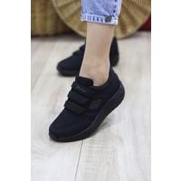 Parley Kadın Bantlı Yuksek Taban Spor Ayakkabı