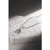 Frnch Poseidon Figürlü Antik Gümüş Renk Erkek Kolye FRJ30432-532-A2