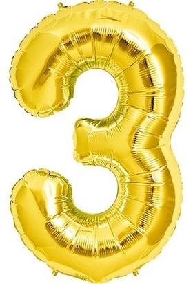 Pazariz 3 Yaş Altın Balon