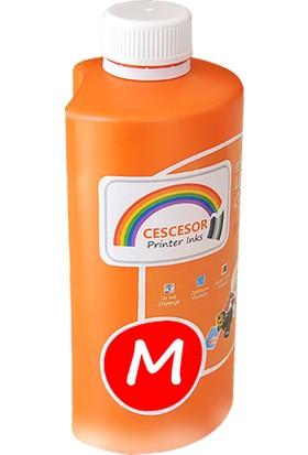 Cescesor Epson L3050 Için T6643 Uyumlu Kırmızı Mürekkep 500GR Claria Cescesor
