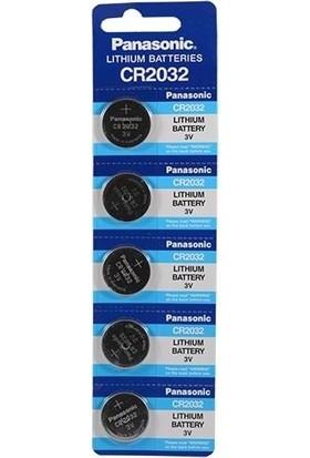 Okbaby Panasonic 2032 3V Lityum Düğme Pil 5'li Paket