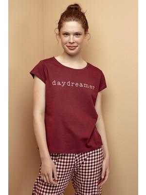 Bordo Ent Daydreamer Pantolon Takımı