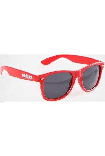 Etnies Skateboard Güneş Gözlüğü Kırmızı Uv 400 Koruma