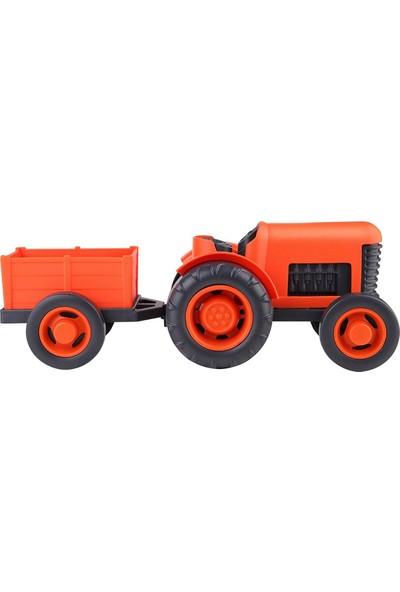 Let's Be Child Römorlu Traktör Turuncu