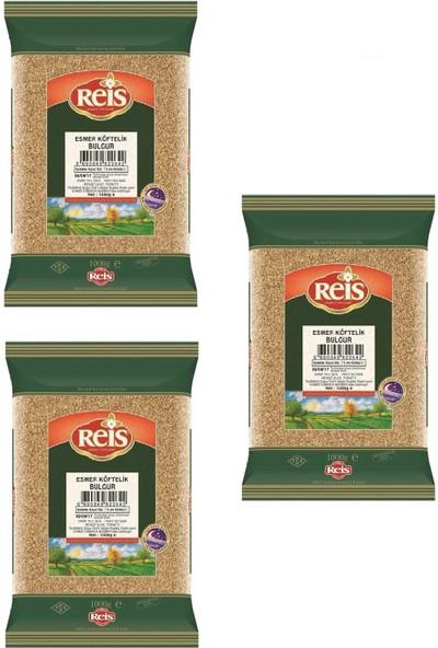 Reis Esmer Köftelik Bulgur 3 x 1 kg