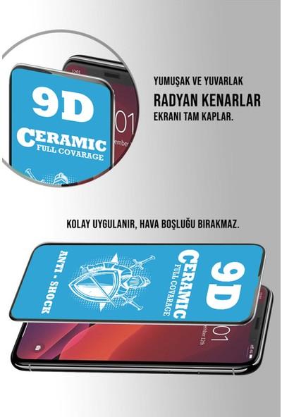 Caseart Samsung Galaxy M12 Tam Kaplayan Seramik Nano Esnek Ekran Koruyucu Cam