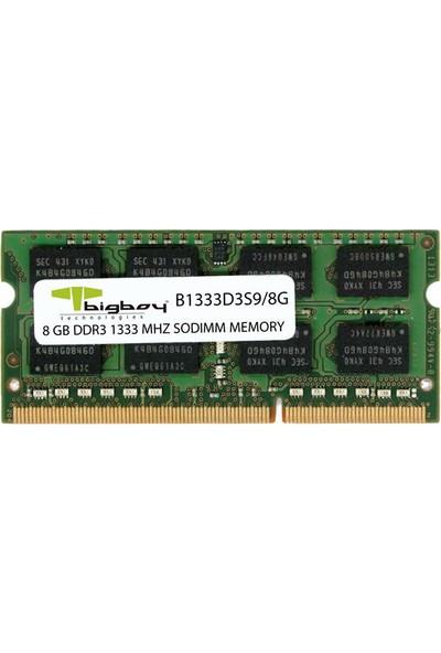 Bigboy 8gb 1333MHZ B1333D3S9/8G Cl9 Ddr3 Notebook Ram