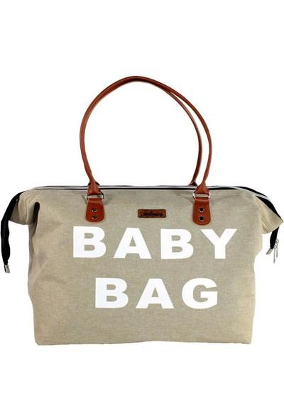Molmini Baby Bag Çanta Bej