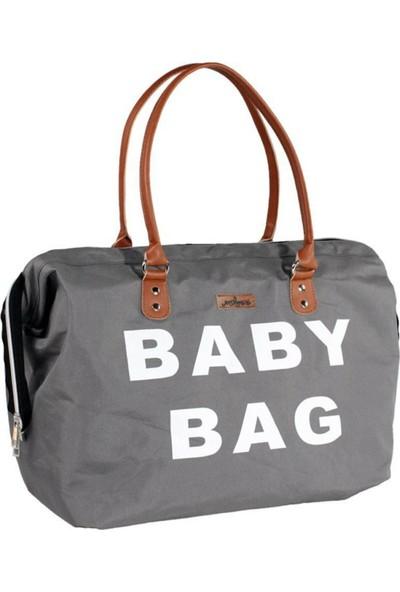 Molmini Baby Bag Çanta Gri