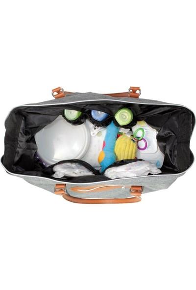 Molmini Baby Bag Çanta Keten Bordo