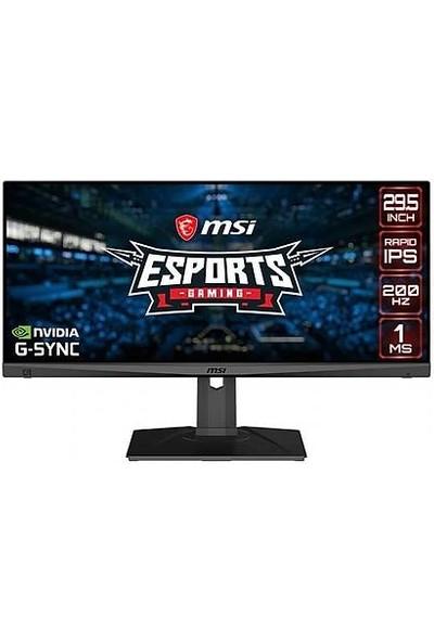 """Msı Optix MAG301RF 29.5"""" 200Hz 1ms Hdmı + Display IPS Gaming Monitör Siyah"""