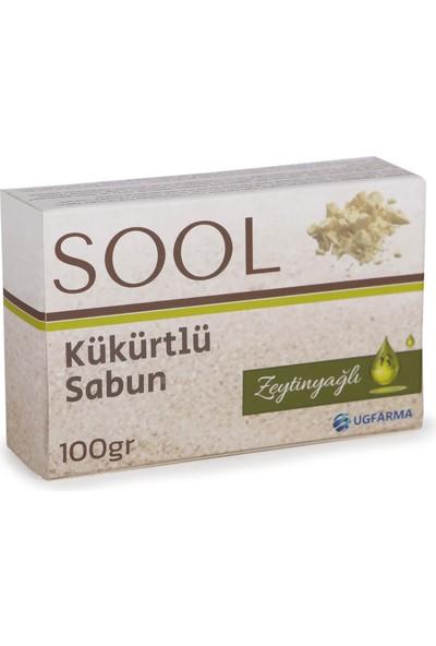 Live Sool Kükürtlü Zeytinyağlı Sabun 100 Gr.