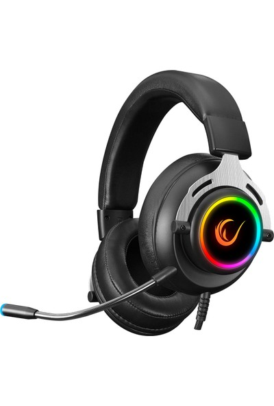 Rampage RM-33 Falcon-X USB 7.1 Mikrofonlu Oyuncu Kulaklık Siyah