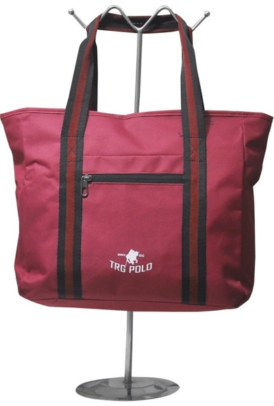 Trg Polo Tote Kadın Çantası, Günlük Kullanıma Uygun, Yedi Farklı Renk Seçeneği, Iç ve Dış Fermuarlı Saklama Cepli,