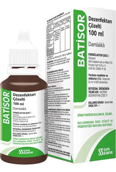 Şifa Kimya Batisor 100 ml