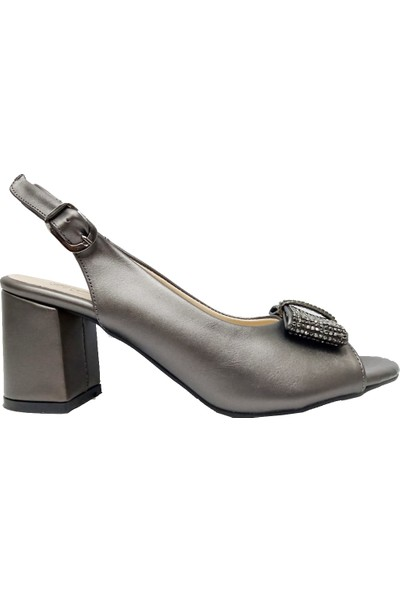 Erbay 08 Deri Trend Fashıon Kadın Ayakkabı