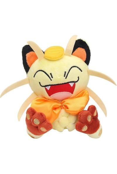 Yuki Pokemon Roket Takımı Meowth Peluş Oyuncak (Yurt Dışından)