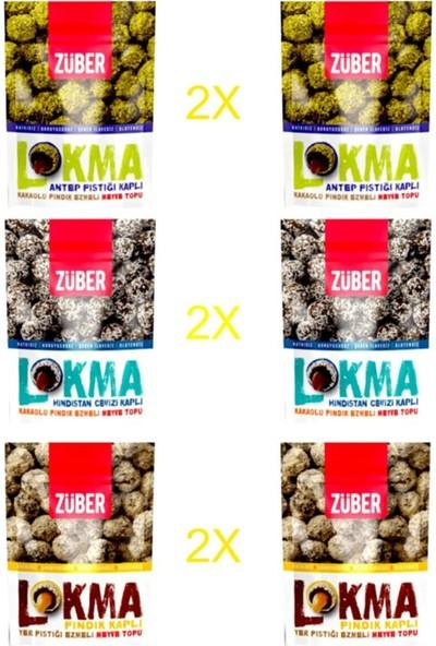 Züber 6'lı Karışık Lokma (96 gr x 6'lı)