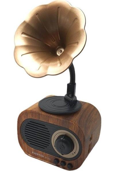 Everton RT-707 Usb-Sd-Fm-Bluetooth Nostaljik Gramafon Model Radyo