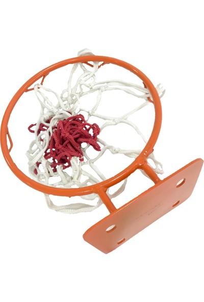 Adelinspor Hoby Mini Kancalı 30 cm Duvara Monte Basketbol Çemberi