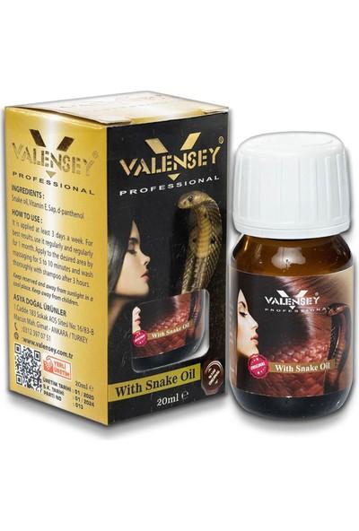 Valensey E Vitaminli Yılan Yağı Saç Bakım Yağı 20 ml x 8 Adet