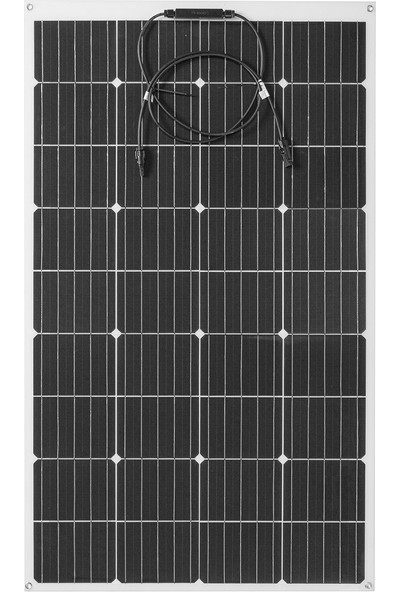 Insma 340W 18V Esnek Monokristal Güneş Paneli Karo Mono Panel Suya Dayanıklı (Yurt Dışından)