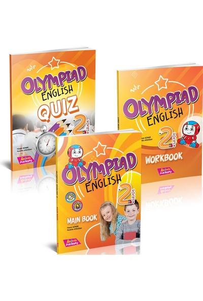 Akılyolu Yayıncılık Grade 2 - Olympıad Englısh Maın Book + Workbook + Quız