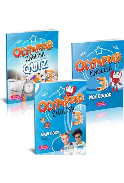 Akılyolu Yayıncılık Grade 3 - Olympıad Englısh Maın Book + Workbook + Quız