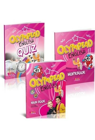 Akılyolu Yayıncılık Grade 4 - Olympıad Englısh Maın Book + Workbook + Quız