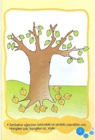 Duru Okul Öncesi Yayınları 4-5 Yaş Şekiller ve Sayılar Kitabı