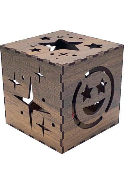 Asr - Magic Box - Sihirli Kutu - Yıldız Desenli Mumluk
