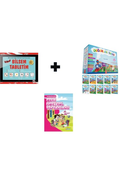 Berkay Yayınları Değerler Treni - Bilsem Tabletim - Ders Kontrol Yaprakları