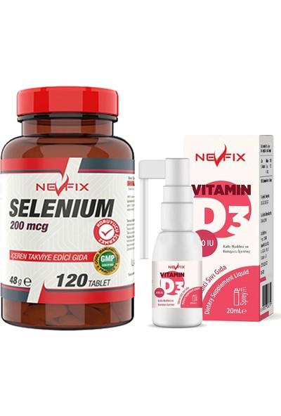 Nevfix Selenyum 200 Mcg 120 Tablet & Selenyum 200 Mcg 120 Tablet