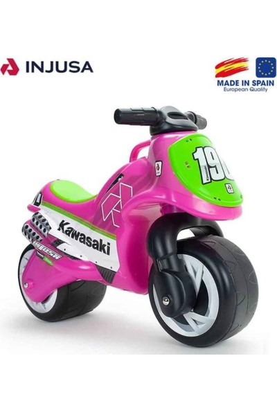 Injusa Neox Kawasaki Denge Bisikleti, Pedalsız (1,5 Yaş +) Pembe
