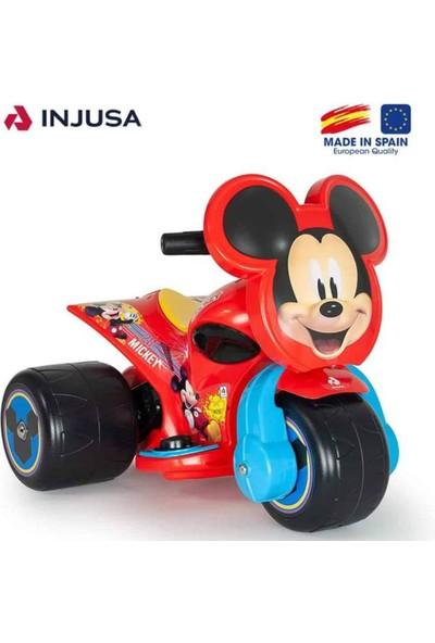 Injusa Trimoto Disney Mickey Mouse Akülü 6V (1 Yaş +)