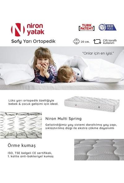 Niron Yatak SOFY Niron Multi-Spring Yaylı Konforlu 80 x 180 Cm Çocuk Yatağı