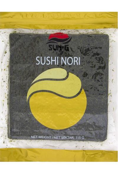 Sun-G Sushi Yosunu - Yaki Nori Gold 50 Yaprak