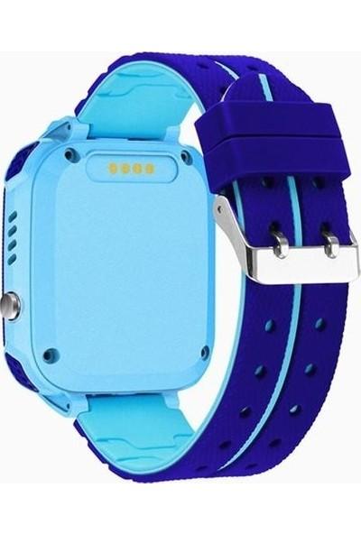 Optivals PT-540/2020 Sim Kartlı Akıllı Çocuk Saati - Mavi