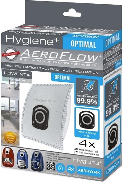 Rowenta Hygiene RO6477EA / 410 Sılence Force Cleaner 4AAAA Toz Torbası