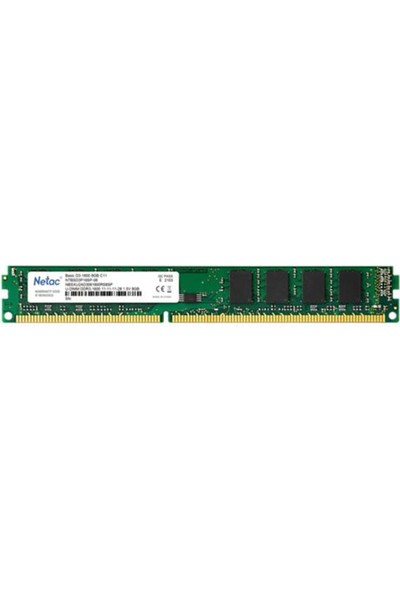 Netac Basic 8gb 1600MHZ Ddr3 CL11 NTBSD3P16SP-08