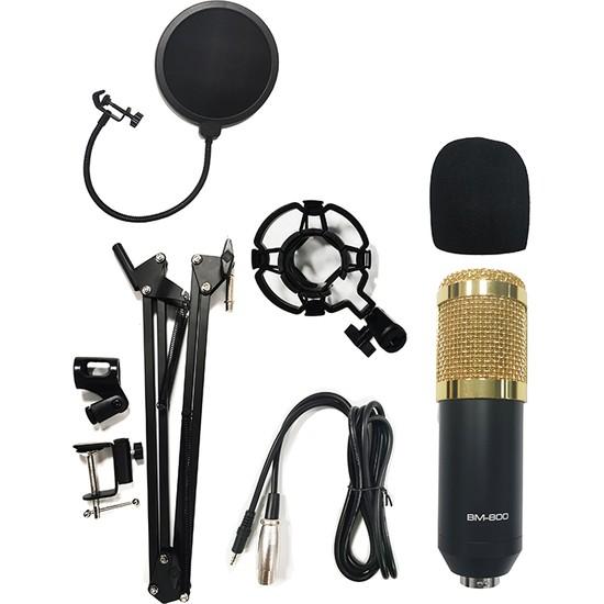 Voce BM-800 Kondenser Stüdyo Mikrofon Seti