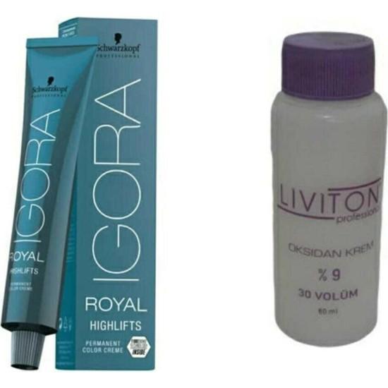 Igora Royal Saç Boyası 5-65 Açık Kahve-Çikolata Altın + Liviton Mini Oksidan 20 Vol