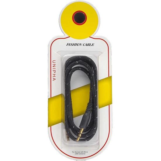 MobaxAksesuar Aux Audio Kablo 3.5mm Jack Zore 01
