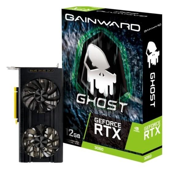 Gainward RTX3060 Ghost NE63060019K9-190AU 12GB Gddr6 HDMI V2.1 Displayport 8-Pin Ekran Kartı