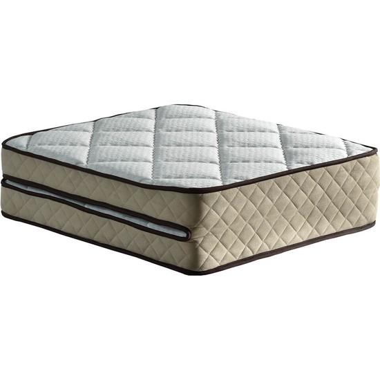 Niron Yatak Tek Kişilik Katlanır Lüks Yatak 90 x 200 Tam Ergonomik Yer Yatağı