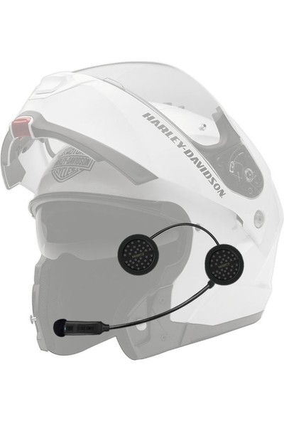 Knmaster KN200 Eco Motosiklet Bluetooth İnterkom Kulaklık Mikrofon Seti