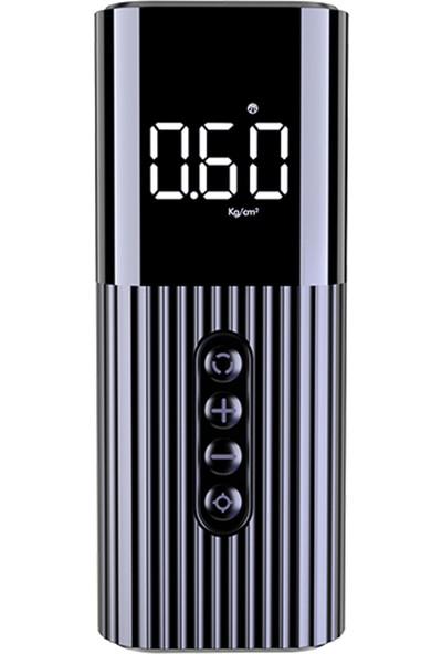 Mioji 10S LED Aydınlatmalı Taşınabilir Kompresör Lastik Hava Pompası