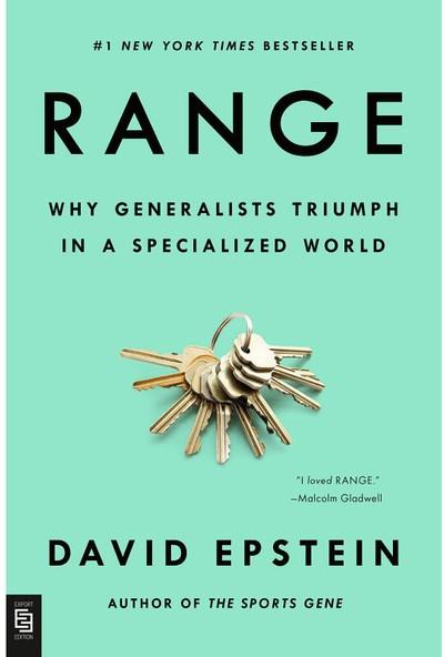 Range: Why Generalists Triumph In A Specialized World (Yurt Dışından)