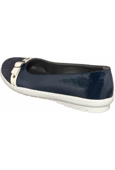 İriadam 17346 Lacivert Büyük Numara Gündelik Kadın Ayakkabısı